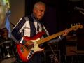 Reunie Back to Tilburg, soundcheck Guitar Syndicate, Jacques.