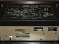 Roland Chorus Echo SRE-555 block diagramm en typeplaatje.