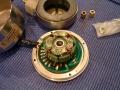 Roland RE-301 motor gedemonteerd.