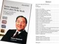 Boek met memoires van Ikutaro Kakehashi Duitse versie 306 pagina's.