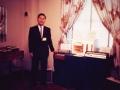 Ikutaro Kakehashi namens Ace Tone op de Namm show in 1964.