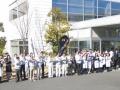 Roland personeel voor headquarters, factory and R&D center Hamamatsu Japan.