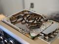 Roland Space Echo RE-101 koppenplaat met 3 weergavekoppen en spaghetti tapeloop.