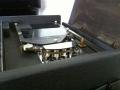 Roland Space Echo RE-150 koppenplaat met 2 weergavekoppen.