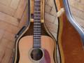 Vega V12-445, 12 string , Top Solid Spruce, Naturel Mahogany back, sides en neck, Rosewood bridge en toets, front.