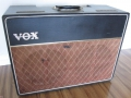 VOX AC10 Twin 1962 Version 7 Smooth Black front.