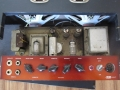 VOX AC10 Twin circuit no 3 1963 restiled copper panel zonder belijning, EF86 circuit met Albion trafo, Parmeko choke, 2 kanaals, normal-vibrato on panel.