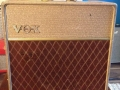 Vox AC10 Split Front Fawn 1962 Red Panel front.