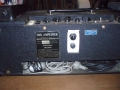 Vox AC10 Super Reverb Twin 1964, head back, typeplaatje, add-on reverb-unit, single egg footswitch..