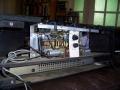 Vox AC10 Super Reverb Twin 1964, open circuit met ad-on reverb unit en galmveer.