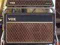 Vox AC10 Super Reverb Twin 1964 slant-top piggy-back met swivel-stand.