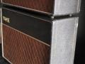 Vox AC10 Super Reverb Twin medio 1964, Basket Weave Rexine, zijzicht.