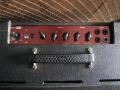 Vox AC10 Super Reverb Twin medio 1964, red panel, zonder belijning, SBU handle, pill-voltage selector.