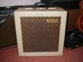 Vox AC10 TV Front Square Edge Cream 12 watt medio 1960, front.