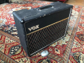 Vox AC10 Twin 1965, Basket Weave Rexine, Deep black grillcloth, Grey panel, Oval Egg footswitch.