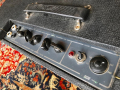 Vox AC10 Twin 1965, Grey panel met Dome spannings carrousel.