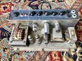 Vox AC10 Twin 1965, chassis met Albion trafo's mains zonder kap, choke  8-K-15 en output 10-120.