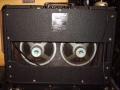 Vox AC10 Twin eind 1964 Version 13, Black grillcloth. Grey panel, 10 inch Silver Elac alnico speakers 10N, EF86 circuit.