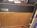 Vox AC10 Twin begin 1964, Version 10, Basket Weave, Brown Grillcloth, Brass vents, SBU handle, geen corner protectors.