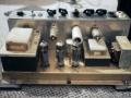 Chassis Vox AC10 Twin 1964 Version 12, Grey panel buizen: EZ81 gelijrichter, kanaal 2 EF86, kanaal 1 Normal ECF82, ECC83, 2 * EL84 eindbuizen.
