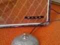 Vox AC15 1963 Bass badge en Round Footswitch.