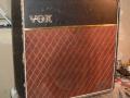 Vox AC15 Split- front eind 1963, Pebble rexine.