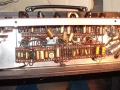 Vox AC15 Split front eind 1963, Red Panel open back, 3e EF86 circuit.