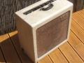 Vox AC15 TV Front Cream begin 1959, plastic handle. Brown Diamond grill cloth.