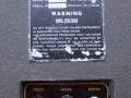 Vox AC15 TV Front Two Tone begin 1960, Vibravox unit en typeplaatje.