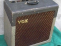 Vox AC15 TV Front Two Tone begin 1960, Brown grilcloth, overzicht.