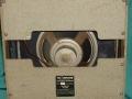 Vox AC15 TV Front Two Tone medio 1960, 2 delige back vibrato geintegreerd in 3e EF86 circuit, 12 inch Celestion Oyster CT3757 alnico speaker 8 ohm.