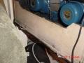 Vox AC15 Twin Fawn voorjaar 1962, 2x12 inch Blue Celestion T.530 alnico speakers 8 ohm.