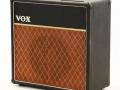 Vox AC15 eind 1964, Basketweave rexine, SBU handle, plastic vents.