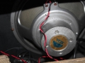 Vox AC15, laatste TV front medio-eind 1960, 3e EF86 circuit, Celestion T.530 Alnico Oyster speaker 12 inch 8 ohm.