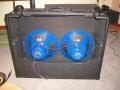 2006- Vox AC30BM, Vox Celestion Alnico Blue 12 inch speakers.