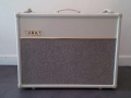 2013 juli Vox AC30C2-Custom Cream, Tygon Grillcloth, Limited Edition, Korg China, 12 inch Celestions G12M-65 Cream.