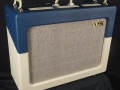 2014 sept Vox AC30C2-TV-BC Twotone Blue Cream, Tygon Grill Cloth, Limited Edition, Korg China, 12 inch Chinese Greenbacks.