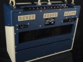 2014 sept Vox AC30C2-TV-BC Twotone Blue Cream, Tygon Grill Cloth, Limited Edition, Korg China, 12 inch Chinese Greenbacks. Back.