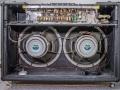 Vox AC30-6TB Expanded 1964, open back, rechts modificatie met  koelventilator.