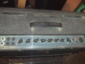 Vox AC30TB Expanded eind 1964, basketweave rexine, grey panel, Dome voltage selector.