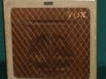 Vox AC30/4 1* 12 inch TV front 1960, Cream.