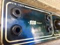 Vox AC30-4 Normal Fawn, Black Panel 1961, 3 lederen handvaten, brass vents, Channel I Vibr-Trem, Channel II Normal, 4 inputs.