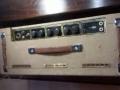 Vox AC30-4 Normal Fawn, Black Panel najaar 1960, 3 lederen handvaten, no corners, brass vents, black panel.