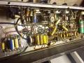Vox AC30-4 Normal Fawn, Black Panel najaar 1960, black panel EF86 Normal circuit.