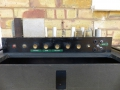 Vox AC301960 single speaker panel met 3 kanalen en 4 inputs, controls treble, bass en 4x volume.