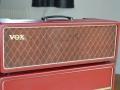 VOX JMI AC30 Supertwin Original 'Custom Colour' RED Tolex 1963 head.