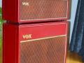 VOX JMI AC30 Supertwin Original 'Custom Colour' RED Tolex 1963.