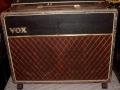 Vox AC30 1962, Smooth Black Rexine, lederen handles.