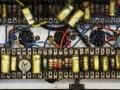 Vox AC30 Normal Red Panel Fawn 1962, circuit met Wima en Mullard condensatoren en Erie weerstanden.