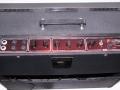 Vox AC 30/6 Bass, Red panel van aug 1964, basketweave, bovenzijde.